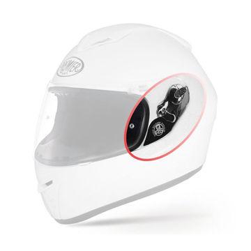 Resim Premier Dragon Evo Motosiklet Kaskı Vizör Mekanizması