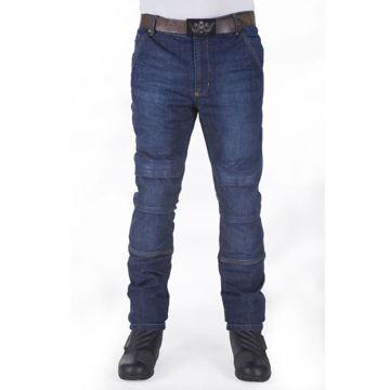 Resim Motobike Jeans 5013 Mavi Aramid Kot Motosiklet Pantolonu