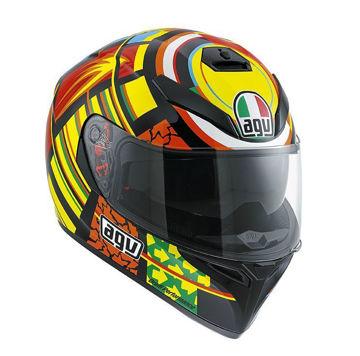 Resim AGV K3 SV Top Elements Kapalı Motosiklet Kaskı