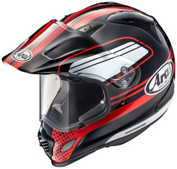 Resim Arai Tour-X4 Move Kapalı Motosiklet Kaskı Kırmızı