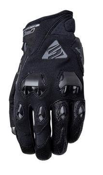 Resim Five Gloves Stunt Evo Kadın Yazlık Motosiklet Eldiveni Siyah