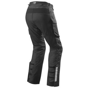 Resim Revit Sand 3 Siyah Motosiklet Pantolonu Siyah
