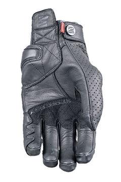 Resim Five Gloves Sport City Deri Yazlık Motosiklet Eldiveni Kahverengi