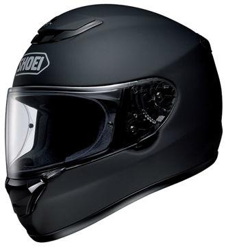 Resim Shoei Qwest Mat Siyah Motosiklet Kaskı