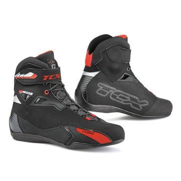 Resim TCX Rush Kısa Motosiklet Botu Siyah