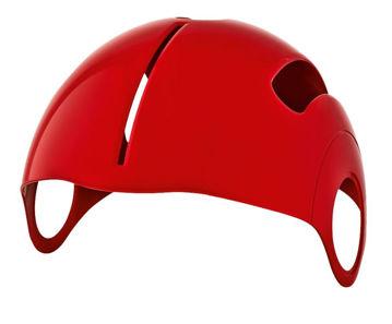 Resim NEXX SX.10 Motosiklet Kask Kapak Kırmızı