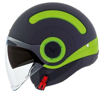 Resim NEXX SX.10 Yarım Motosiklet Kaskı Mat Yeşil-Siyah