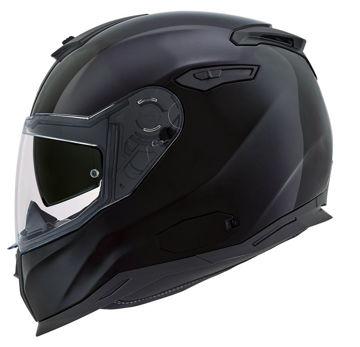 Resim NEXX SX100 Kapalı Motosiklet Kaskı Mat Siyah
