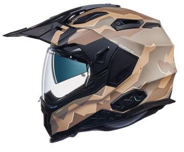 Resim NEXX X.WED 2 Hill End Kapalı Motosiklet Kaskı Mat Kum