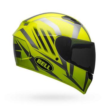 Resim BELL PS Qualifier Blaze Hi-Vis Kapalı Motosiklet Kaskı Neon