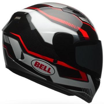 Resim Bell PS Qualifier Torque Motosiklet Kaskı Siyah Kırmızı