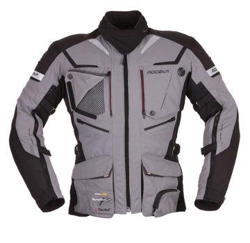 Resim Modeka Panamerıcana Motosiklet Ceket Grı/Siyah