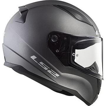 Resim LS2 FF353 Rapid Kapalı Motosiklet Kaskı Mat Titanyum