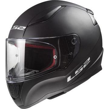 Resim LS2 FF353 Rapid Kapalı Motosiklet Kaskı Mat Siyah