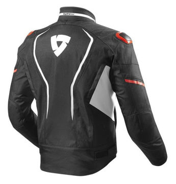 Resim Revit Vertex H2O Motosiklet Montu Beyaz-Kırmızı