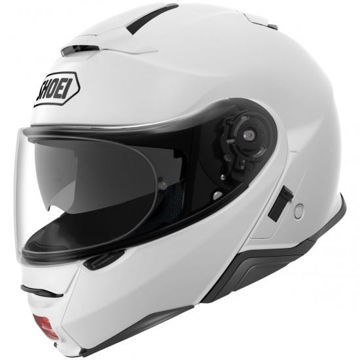 Resim Shoei Neotec 2 Çene Açılır Motosiklet Kaskı Beyaz