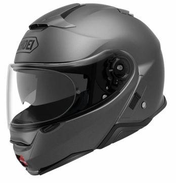 Resim Shoei Neotec 2 Çene Açılır Motosiklet Kaskı Mat Gri