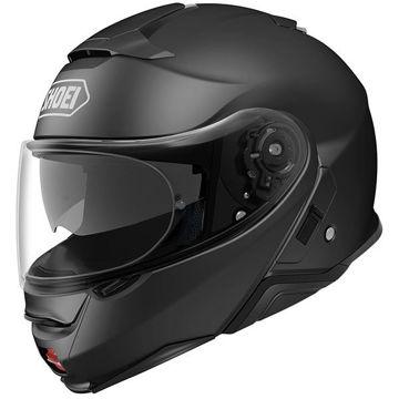 Resim Shoei Neotec 2 Çene Açılır Motosiklet Kaskı Mat Siyah