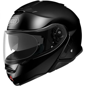 Resim Shoei Neotec 2 Çene Açılır Motosiklet Kaskı Siyah