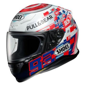 Resim Shoei Nxr Marquez Power Up TC-1 Kapalı Motosiklet Kaskı