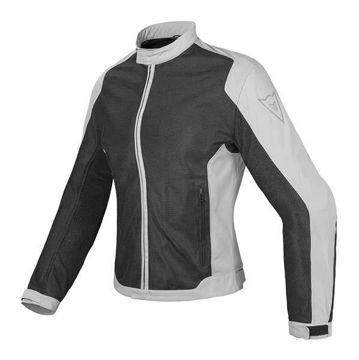 Resim Dainese Air Flux D1 Tekstil Yazlık Kadın Motosiklet Ceketi Siyah Gri