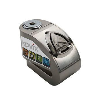 Resim Kovix KD6-BM Alarmlı Motosiklet Disk Kilit Gri