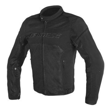 Resim Dainese Air Frame D1 Tekstil Yazlık Motosiklet Ceketi Siyah