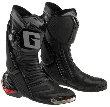 Resim Gaerne GP1 Evo Air Motosiklet Yarış Çizmesi Siyah