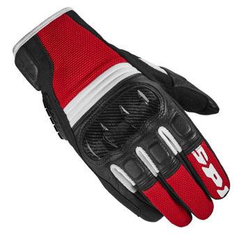 Resim Spidi TX-2 Yazlık Motosiklet Eldiven Kırmızı Siyah