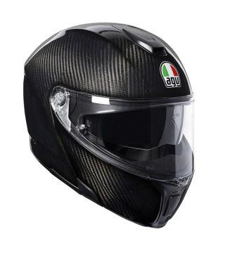 Resim Agv Sportmodular PLK Karbon Çeneden Açılır Motosiklet Kaskı