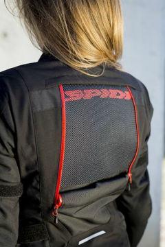 Resim Spidi 4 Season Kadın Motosiklet Montu Siyah