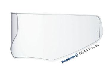 Resim Schuberth C3 Pro Şeffaf Kask Vizörü 60-65