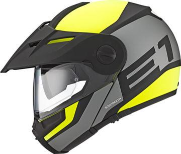 Resim Schuberth E1 Guardian Çeneden Açılır Motosiklet Kaskı Sarı