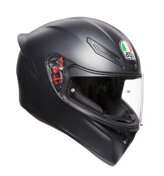 Resim AGV K1 Kapalı  Motosiklet Kaskı Mat Siyah