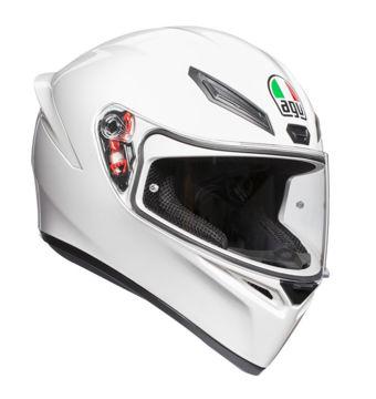 Resim AGV K1 Kapalı Motosiklet Kaskı Beyaz