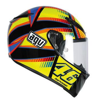 Resim AGV Veloce S Top Soleluna Plk Kapalı Motosiklet Kaskı