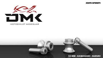 Resim DMK Kawasaki ve Suzuki Sehpa Aparatı 10 mm Gümüş