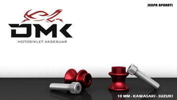 Resim DMK Kawasaki ve Suzuki Sehpa Aparatı 10 mm Kırmızı