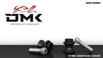 Resim DMK Kawasaki ve Suzuki Sehpa Aparatı 10 mm Siyah