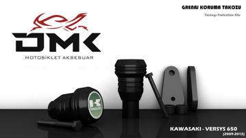 Resim DMK Kawasaki Versy 650 2009-2012 Koruma Takozu
