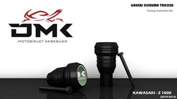 Resim DMK Kawasaki Z1000 2010-2012 Koruma Takozu