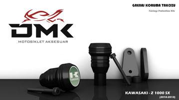 Resim DMK Kawasaki Z1000 SX 2010-2013 Koruma Takozu