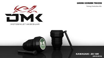 Resim DMK Kawasaki ZX 10R 2010-2013 Koruma Takozu