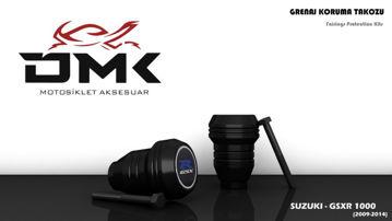 Resim DMK Suzuki GSXR 1000 2009-2014 Koruma Takozu