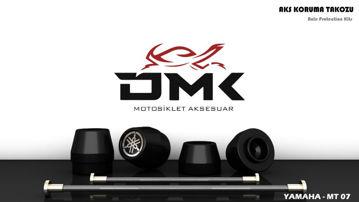 Resim DMK Yamaha MT07 Aks Koruma Takozu