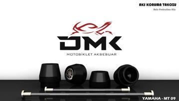 Resim DMK Yamaha MT09 Aks Koruma Takozu