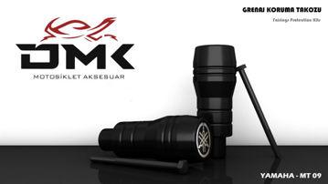 Resim DMK Yamaha MT09 Koruma Takozu