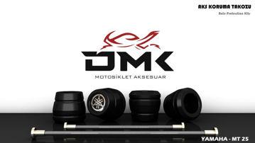 Resim DMK Yamaha MT25 Aks Koruma Takozu