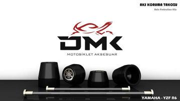 Resim DMK Yamaha R6 Aks Koruma Takozu