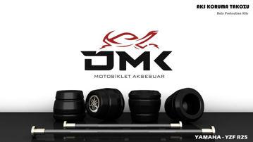 Resim DMK Yamaha R25 Aks Koruma Takozu